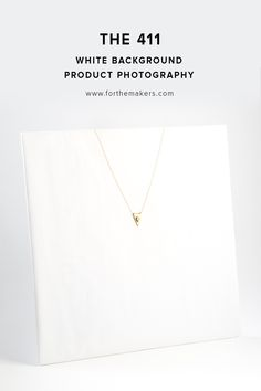Everything you need to know for professional looking product shots on a white backgound // product photography 411
