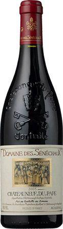 CdPs are my favorite red wines!  Domaine des Senechaux, Chateauneuf-du-Pape 2006