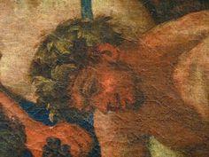 """POUSSIN Nicolas 1624-25 - L'Enfance de Bacchus, La Petite Bacchanale (Louvre) - Detail 05  - TAGS/ details détail détails detalles painting  """"peintures 17e"""" """"17th-century paintings"""" Museum France Paris femme woman """"jeune femme"""" """"young woman"""" man men hommes people boy """"little boy"""" garçon enfant kid kids child children """"naked woman"""" """"femme nue"""" female bare naked nude nue sensuelle animal animals animaux chèvre goat agneau lamb boire boisson drink fête feast repas meal raisin grape fruit Ovide…"""