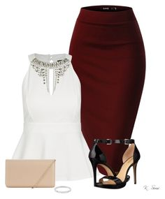 """CEO"" by ksims-1 ❤ liked on Polyvore featuring City Chic, MICHAEL Michael Kors, Hobbs, Michael Kors and plus size clothing"