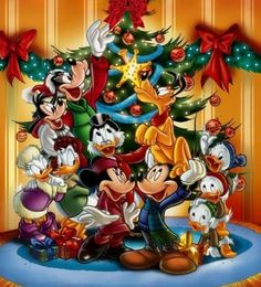 Billedresultat for disney julebilleder Natal Do Mickey Mouse, Mickey Mouse E Amigos, Mickey E Minnie Mouse, Mickey Mouse Christmas, Mickey Mouse And Friends, Wallpaper Do Mickey Mouse, Disney Wallpaper, Disney Images, Disney Pictures