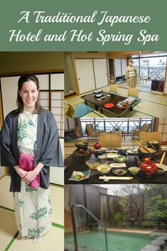 Tips for visiting a ryokan, traditional Japanese hotel with hot spring spa (onsen)