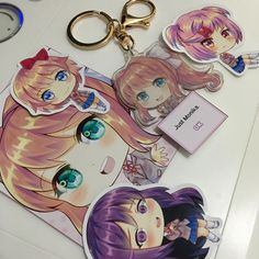 Monika charm is here! 😊 Now Monika and her friends are ready to be shipped! ❤️