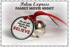 Polar Express Family Movie Night-Making Life Whimsical