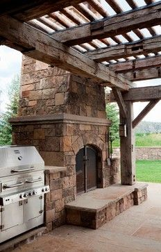 Old Neat Looking Pergola Outdoor Spaces Pinterest