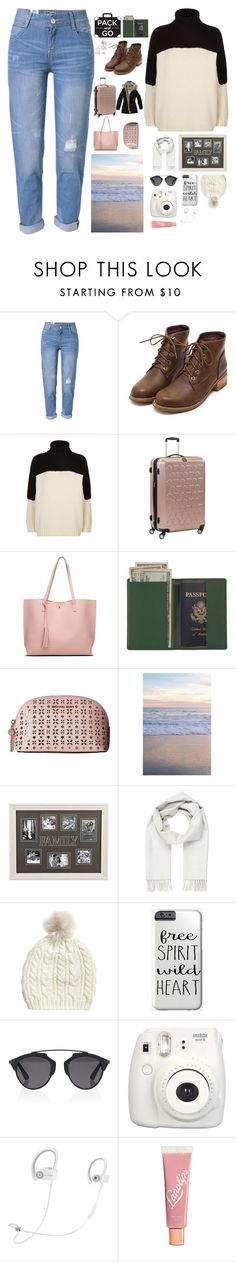 """""""Pack and go🌍"""" by bartivana ❤ liked on Polyvore featuring WithChic, Jaeger, ful, Royce Leather, MICHAEL Michael Kors, Brioni, Christian Dior, Fujifilm, Beats by Dr. Dre and Lano"""