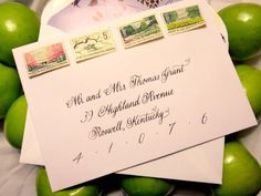 #Wedding #Calligraphy #Envelope