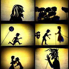 schaduwtheater - creatief met nieuwe media in het onderwijs