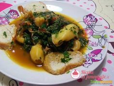 Seppie con bietole e pomodori  #ricette #food #recipes