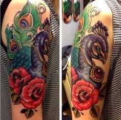 <3 { #art #bodyart #flower #tattoo #tattooart #tattoos }