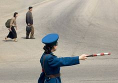Pyongyang North Korea | Flickr - Photo Sharing! Traffic control in North Korea.
