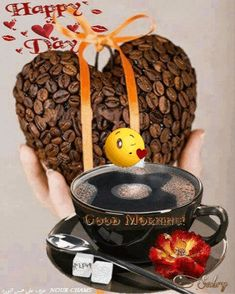 Good Morning Coffee Gif, Good Morning Cards, Cute Good Morning, Good Morning Flowers, Good Morning Quotes, Coffee Time, Music Wallpaper, Dark Wallpaper, Sweet Love Quotes