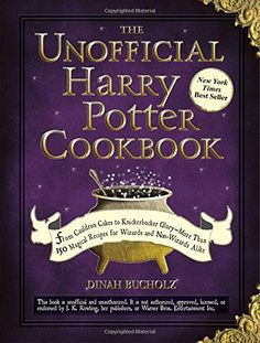 The Unofficial Harry Potter Cookbook contains many interesting themed recipes including Cauldron Cakes, Pumpkin Juice and Treacle Tart. It's a must have for every Harry Potter fan. Knickerbocker Glory, Treacle Tart, Fanart Harry Potter, Harry Potter Cookbook, Harry Potter Gifts, Harry Potter Library, Harry Potter Snacks, Bangers And Mash, Master Chef