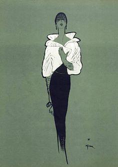 René Gruau (February 4, 1909 - March 31, 2004)