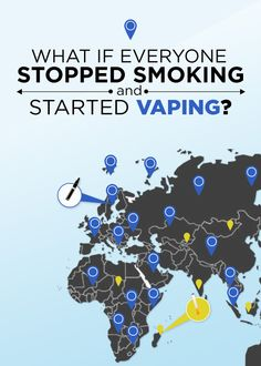 Interesting question to ask...What IF everyone Stopped Smoking and Started Vaping? Well the world would be alot better off thats for sure. We did some digging and its a bit shocking how deep the damage can go globally as well as individually (READ NOW & Share to spread the word) ‪#‎stopsmokingstartvaping‬ ‪#‎quitsmoking‬ ‪#‎vapingsavesliveshttp‬