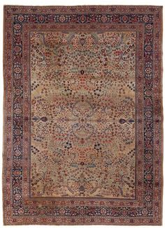 VAN-HAM Kunstauktionen Mashad.  Early 20th Century. 478 x 346cm.