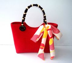 Native Bag Berry Rood