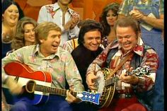 An episode of He Haw with guest appearance from Johnny cash