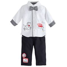 101 Dalmatians Deluxe Woven Shirt and Pant Set for Baby | Disney Store