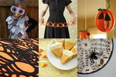 This is really helpful if you don't know what to do for a Halloween party  50 Halloween Crafts by ErinFist