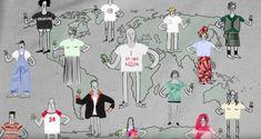 Un video d'animazione racconta il ciclo di vita di una t-shirt via @frizzifrizzi
