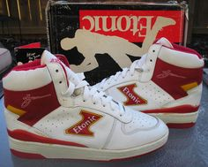 Who remembers these joints...Akeem Olajuwon, yes he was Akeem during this time, wore these back in the mid 80's.