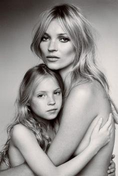 Kate Moss et sa little Lila Grace