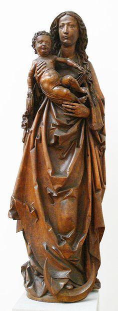 Riemenschneider Madonna Tauberbischofsheim - Category:Tilman Riemenschneider - Wikimedia Commons
