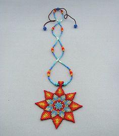 Native un collier de perles collier Fondue Collier Native American Collier