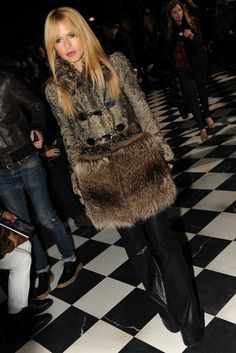 Rachel Zoe Front Row at Tommy Hilfiger