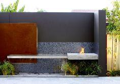 EcoSmart Fire BK5 bio-ethanol burner featured in Private Residence, Sydney Australia