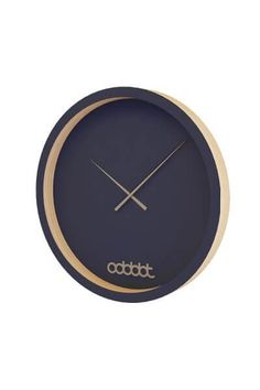 The Narew Clock is a fantastic new wall clock from Odddot, high-quality coloured plywood for minimalist living; now available in a vast range of colours!