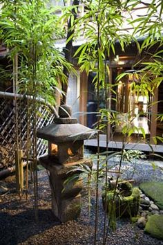 Kinmata ryokan's courtyard garden, Kyoto 近又