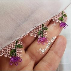 Easy Hobbies, Crochet Lace Edging, Designs For Dresses, Needle Lace, Bargello, Baby Knitting Patterns, Hand Embroidery, Tatting, Needlework