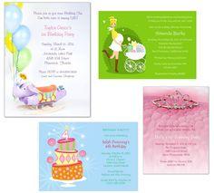4 creative Baby Shower Invitations ideas
