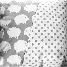 bedding set lamm grey single this modern life