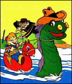Beany and Cecil  created 1949.  Cecil the sea serpent was my all time favorite, hands down!