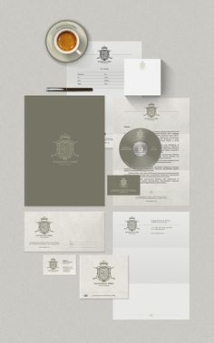 stationery / Bankhaus Erbe by Denis Ulyanov