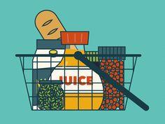 Grocery Illustration