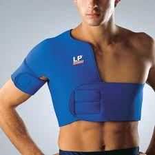 مشد الاكتاف الحراري لمعالجة الكتف والرقبة من الجلوس لفترات طويلة Supportive Shoulder Support Brace Shoulder Support