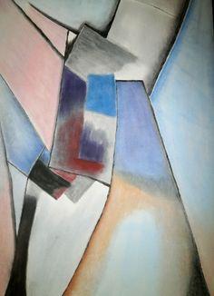Dino Buchmann, Im Zentrum, 2014, Pastell auf Papier, BxH 60x42 cm on ArtStack #dino-buchmann #art