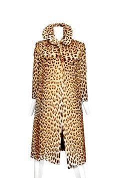 DIOR leopard skin coat, late 60s ~ oh, how I wish!!!