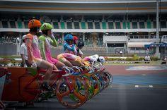 Miho Girls Keirin   Flickr - Photo Sharing!