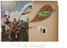 """I'm on the fence about the painting, but LOVE the title. """"Let's Kill Some Shit for Dinner"""" by Oliver Jeffers."""