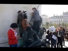 Canal plus Hommage aux marcheurs Wallas Oliver La farandole des fromages