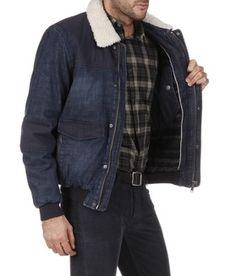 Blouson imitation cuir homme grande taille