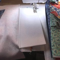 Sewing Tip: Lengthen your stitch a bit to sew through layers, stitch 1/4 from the base edge. Tip: You can use double sided tape or a bit of glue to hold the base in place while sewing. #LazyGirlDesigns #LazyGirlInterfacing #berninausa #BagTutorial #BagBottom #BagPattern #TotePattern Bag Patterns To Sew, Tote Pattern, Sewing Patterns, Handbag Patterns, Sewing Hacks, Sewing Tutorials, Lazy Girl Designs, Maker, Fabric Bags