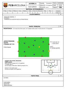 Soccer Practice Drills, Football Training Drills, Fc Barcelona, Barcelona Training, Soccer Workouts, Soccer Coaching, Exercise, Soccer Practice, Workout Plans