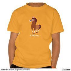 Zora the Horse T-shirt. Producto disponible en tienda Zazzle. Vestuario, moda. Product available in Zazzle store. Fashion wardrobe. Regalos, Gifts. #camiseta #tshirt