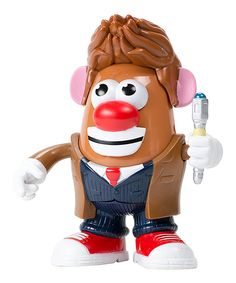 Look at this Doctor Who the Tenth Doctor's Mr Potato Head Toy on today! Doctor Who, 10th Doctor, Mr Potato Head, Potato Heads, Dr Who 10, Action Figure Store, Hello Sweetie, Bobble Head, Kids Christmas